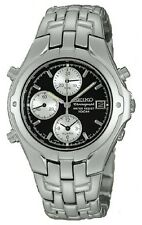 Seiko SDWF73 Men's Tachymeter Date Alarm Le Grand Sport Chronograph Watch