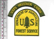 National Forest USFS Helitack Crew Air Attack Forest & Wildland Firefighter USFS