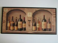 Wine Kitchen Wall Decor Plaque Tuscany Italian French Bistro sign picture BIG