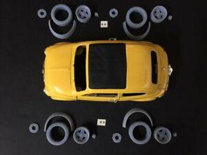 1/24 Kit estetico di trasformazione Gr5 per Fiat cinquecento adattabile Burago