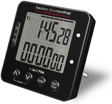 Salter Heston Blumenthal Electronic Digital Dual Kitchen Timer Turn Reminder