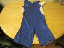 New Balance Track Field Speedsuit Speed Suit Aerobics Mens S Small Nwt Blue Usa