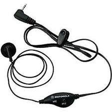 **NEW** GENUINE MOTOROLA 53727 EARBUD W/ PTT MICROPHONE (BLACK) US SELLER!!