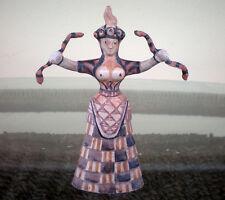 Minoan Art Small Snake Goddess - Palace of Knossos - Replica Figure