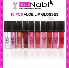 Lip Glosses 10pcs NABI Lip Gloss _cruelty Free