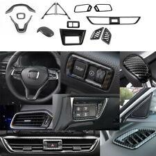 13X Abs Carbon Fiber Car interior decoration cover For Honda Accord 2018-2020