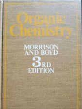 Organic Chemistry, Morrison & Boyd, 3rd Edition, Hard cover, missing dust jacket