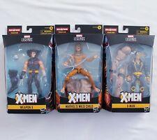 X-Men Marvel Legends Apocalypse X-Man ~ Marvels Wild Child ~ Weapon X Lot of 3