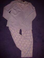 Croft & Barrow SUPER SOFT 2 piece plush pajama set size small! lavender