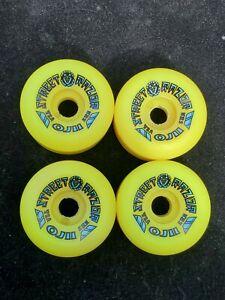 Vintage Oj 2 Street Razor Skateboard Wheels Not Powell Vision