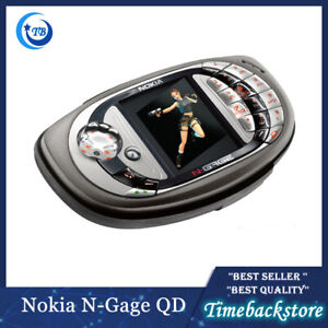 "Original Nokia N-gage QD Game CellPhone 2.1"" Bluetooth GSM 900/1800 in Stock"