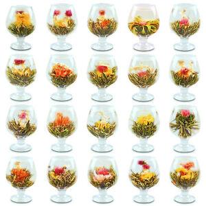 Organic Blooming Flower Tea Beautiful Blooming Green Handmade Tea Balls