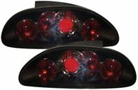 ROVER MGF MG TF BLACK LEXUS STYLE DESIGN REAR BACK TAIL LIGHTS
