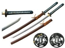 "NEW 41"" RYUJIN T10 Japanese Samurai Sword No Bohi w Choji Hamon Ninja Katana"