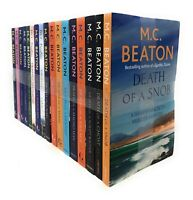 Hamish Macbeth Murder Mysteries 17 Books Set Collection By M.C Beaton
