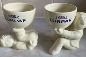 Lurpak 2x Limited Edition Douglas Egg Cups Pack 1 Boxed
