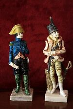A Pair of Vintage Italy Napoleonic Soldier Figurine