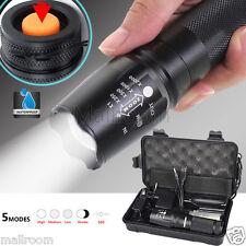 5000lm Shadowhawk X800 Taktisch LED Zoom Torch G700 Taschenlampen 18650 Lade Set