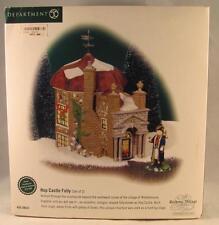 Dept 56 Dickens Village Hop Castle Folly #58633 Set of 2 Ltd Ed #4666 / 5600