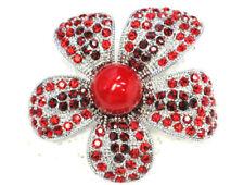 Modeschmuck-Broschen & -Anstecknadeln mit Strass-Perlen für Damen