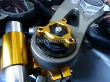 FORK PRE LOAD FORK ADJUSTERS 17MM GOLD YAMAHA YZF R1 R6 YZF 750 R1C9