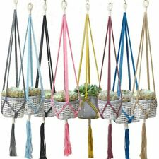 Colorful Handmade Plant Hanger Flower Hangers Wall Indoor Vintage Accessories