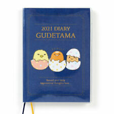 Gudetama egg B6 Diary block type 2021 Schedule planner Book Sanrio kawaii NEW