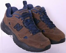 New Balance MX620OD 620 Brown Leather Lace-Up Walking Shoes Men's US 7.5EE