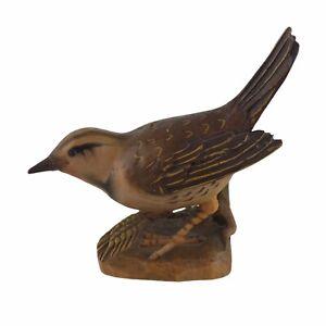 Vintage Hand Carved Wooden Bird Hagerstown Maryland Folk Art Henneberger U10