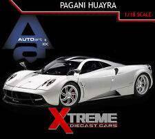 AUTOART 78266 1:18 PAGANI HUAYRA SILVER SUPERCAR DIECAST MODEL CAR