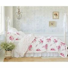 Simply Shabby Chic Sunbleached (Twin Floral Comforter Only) New pink floral