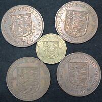 Mix Of High Grade Jersey Coins | Bulk Coins | KM Coins