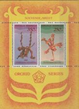 Indonesia 1980 Souvenir Sheet #1110 Orchids - MH