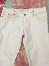 Miss Sixty White Trousers / Jeans Size 31 (fit 8-10UK)