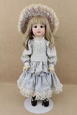 """20"""" Antique Reproduction Artist Bisque PARIS BEBE porcelain head French Doll"""