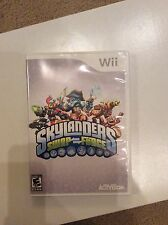 Wii Skylanders Swap Force Set Video Game + Characters