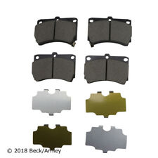 Disc Brake Pad Set Front Beck/Arnley 089-1415