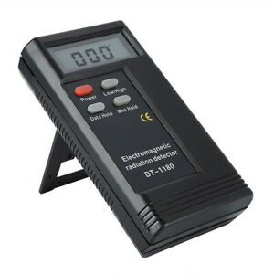 """2.3"""" LCD Dual Frequency Electromagnetic Radiation Detector Monitor For Cellphone"""