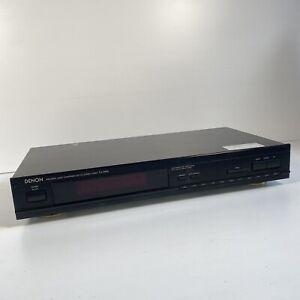 Vintage 1990 DENON TU-260L AM/FM Stereo Tuner *Tested* VGC - FREE POST