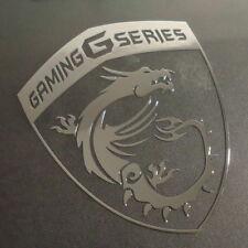 MSI Gaming Series Label / Badge / Sticker / Logo 75 x 93mm [441b]