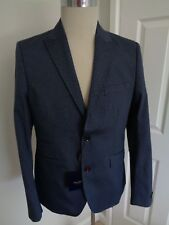 BNWT Holland Esquire Navy Liberty Print Cotton Blazer Jacket size 40 RRP £300