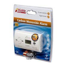 Kidde Carbon Monoxide Alarm Detector 7DCO CO Long Life 10 Year Warranty Free P&P