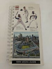 Vintage Baseball MLB 1994 CLEVELAND INDIANS Media Guide Rare Tribe