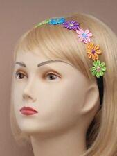 Accessoires de coiffure multicolore en synthétique pour femme
