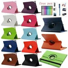 For Samsung Galaxy Tab A S5e 8.0 10.1 10.5 2019 PU Leather 360 Rotate Cover Case