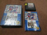 NHLPA Hockey '93 (Sega Genesis, 1992)  Complete in Box - CIB