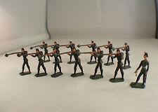 CBG France Lot de 13 soldats prussiens rond de bosse 3 cm Rare