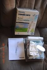 PHILIPS SONICARE ESSENCE RECHARGEABLE  TOOTHBRUSH HX5351/46 open scuffed box