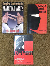 Martial Arts And Ninja Book Lot - 3 Paperbacks