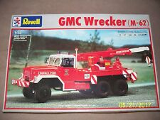 RARE 1:32 Revell GMC Wrecker (M-62), open & complete. NOT a snap-tite kit!